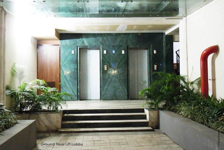 Ground Floor Lift Lobby